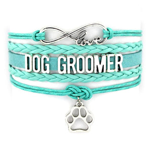 Dog Groomer Infinity Love Bracelet