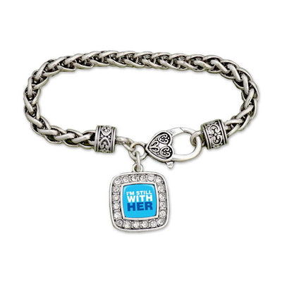 """Still With Her"" Clamp Bracelet"