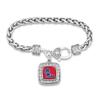 Ole Miss Rebels Official Clasp Bracelet