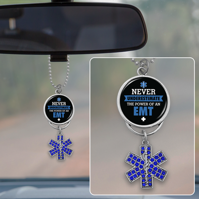 Never Underestimate The Power Of An EMT Rearview Mirror Charm