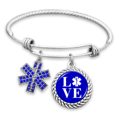 Star Of Life LOVE Charm Bracelet