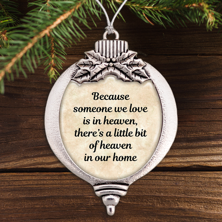 Little Bit Of Heaven Bulb Ornament