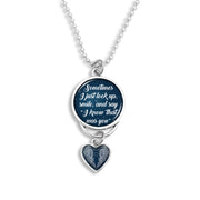 I Know That Was You Night Sky Rearview Mirror Charm