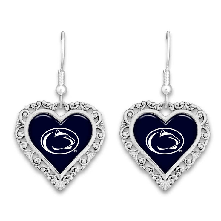 Penn State NIttany Lions Official Lace Trim Earrings