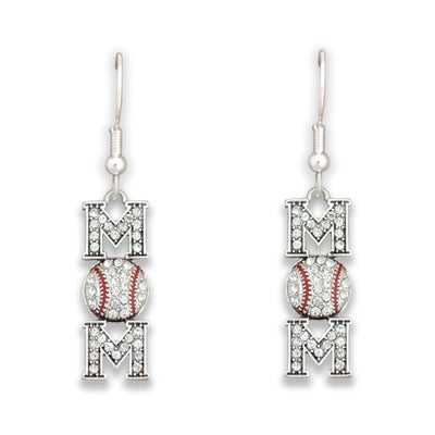 Baseball Mom Earrings