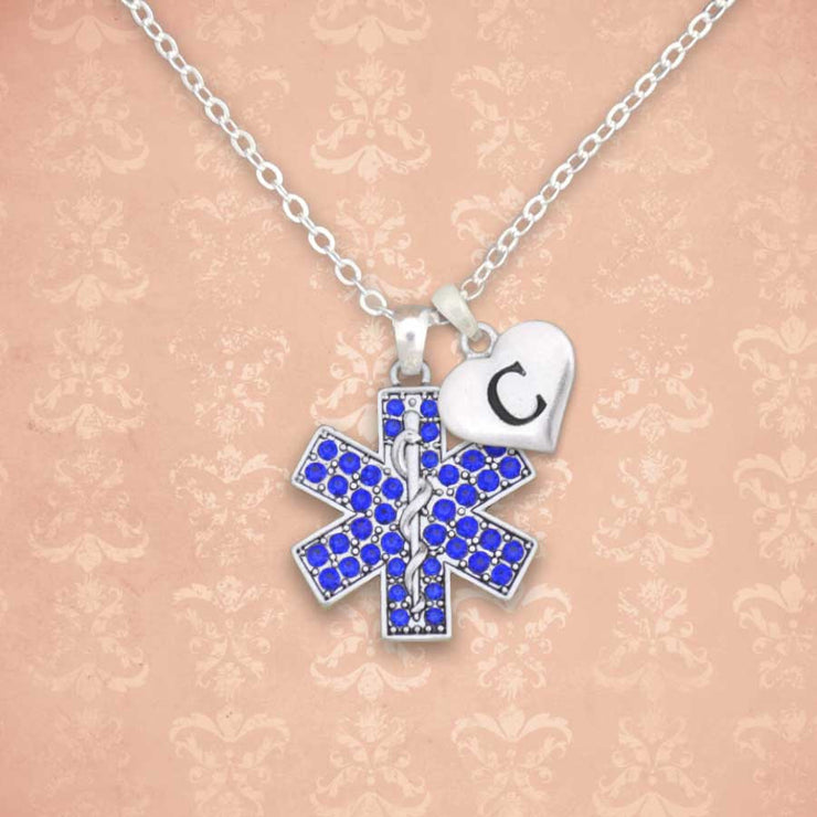 EMT Custom Initial Necklace