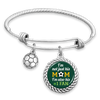 I'm Not Just His Mom, I'm Also His #1 Fan Soccer Charm Bracelet