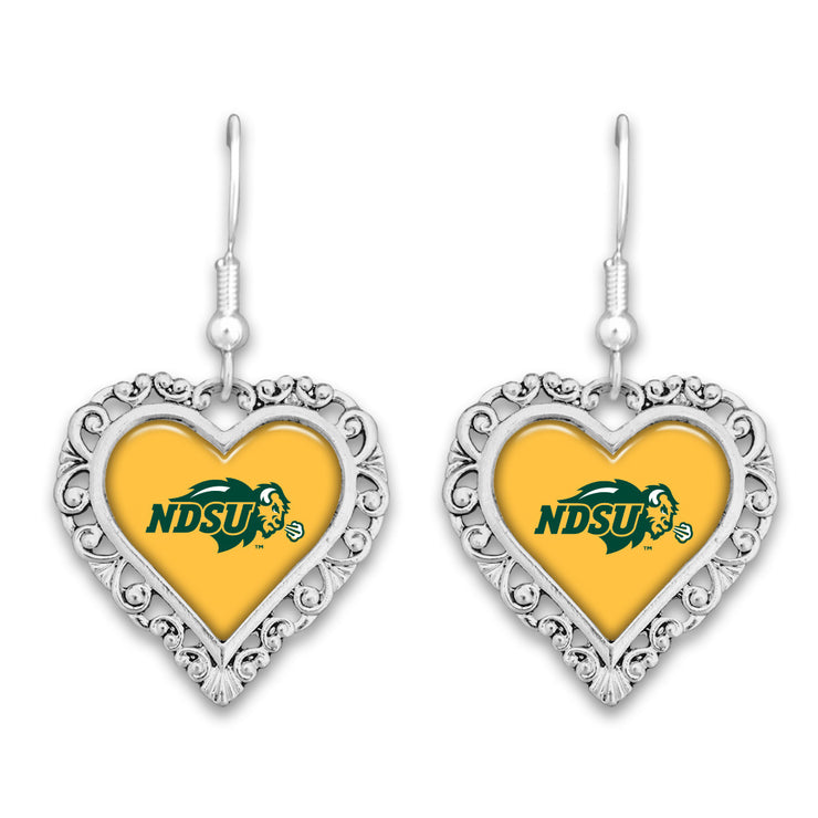 NDSU Official Lace Trim Earrings