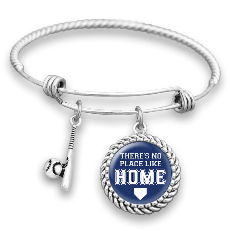 Los Angeles There's No Place Like Home Baseball Charm Bracelet