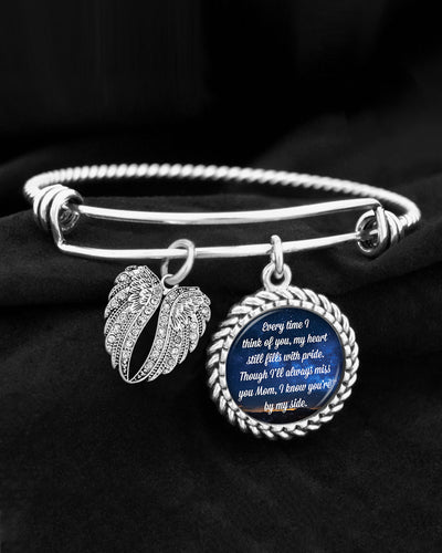 Mom Every Time I Think Of You Charm Bracelet