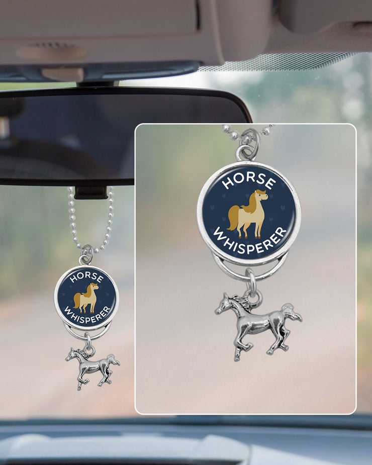 Horse Whisperer Rearview Mirror Charm