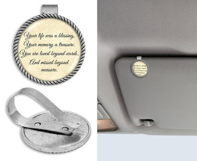 Missed Beyond Measure Circle Auto Visor Clip