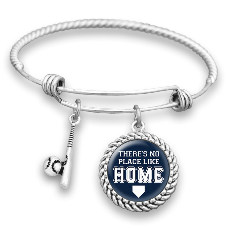 Baseball There's No Place Like Home Charm Bracelet