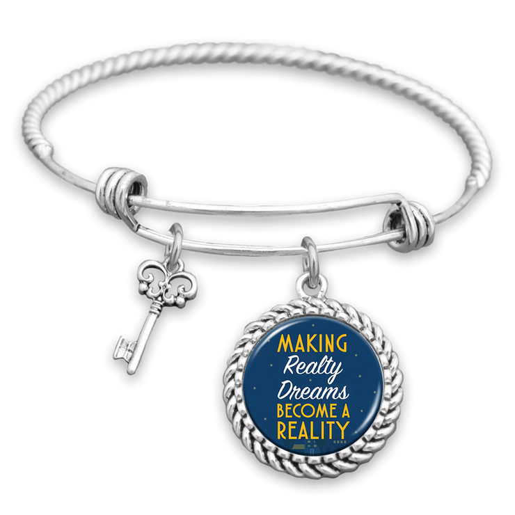 Making Realty Dreams Become A Reality Charm Bracelet