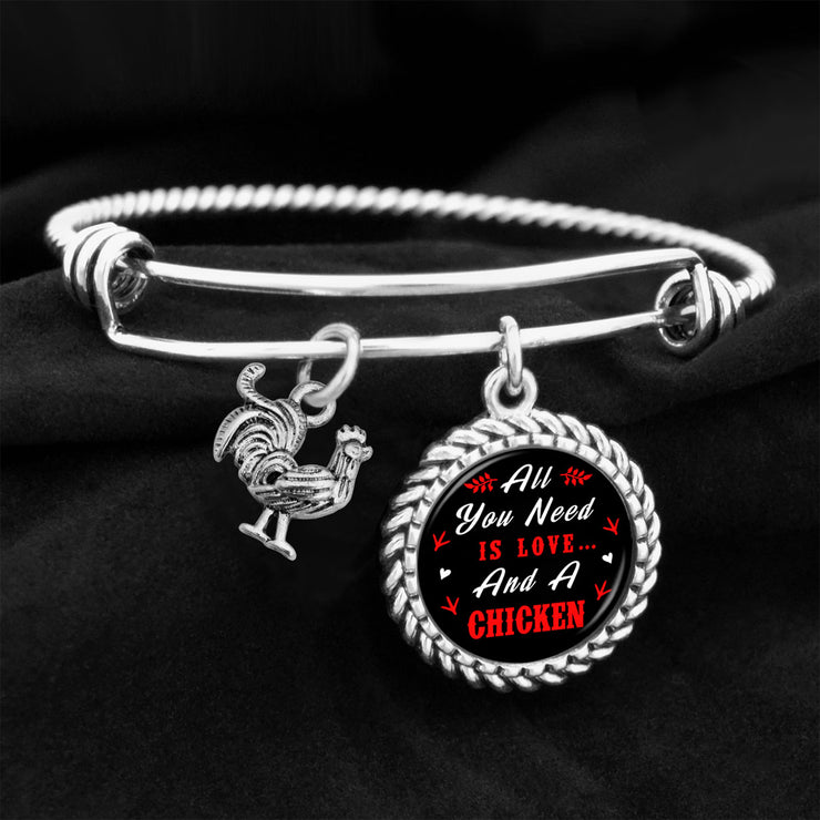 All You Need Is Love And A Chicken Charm Bracelet