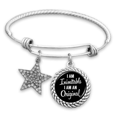 I Am Inimitable, I Am An Original Charm Bracelet