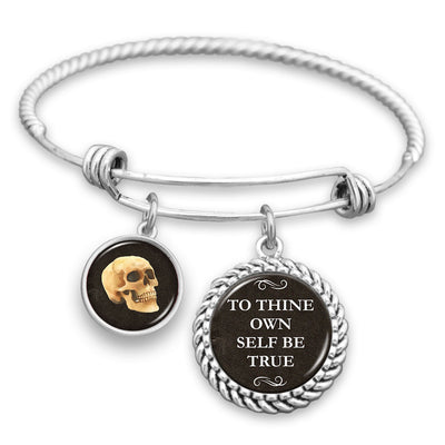 To Thine Own Self Be True Charm Bracelet