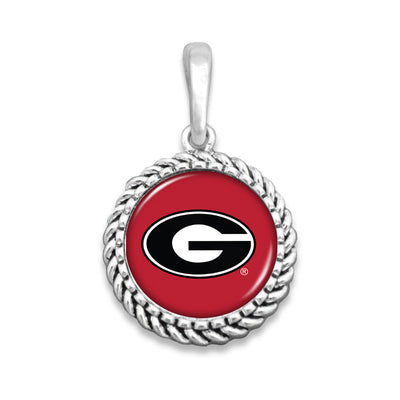 Georgia Bulldogs Easy-O Zipper Pull Charm