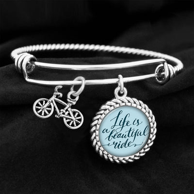 A Beautiful Ride Bike Charm Bracelet