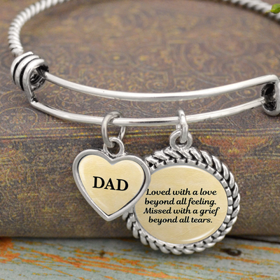 Beyond All Feeling Personalized Charm Bracelet