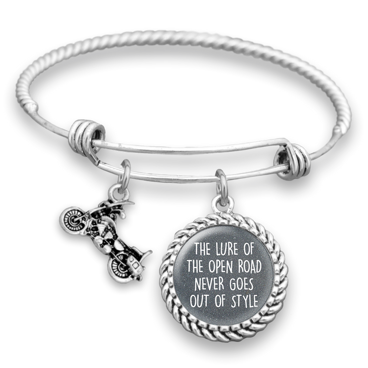 Lure Of The Open Rode Charm Bracelet