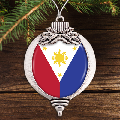 Flag Of The Philippines Bulb Ornament