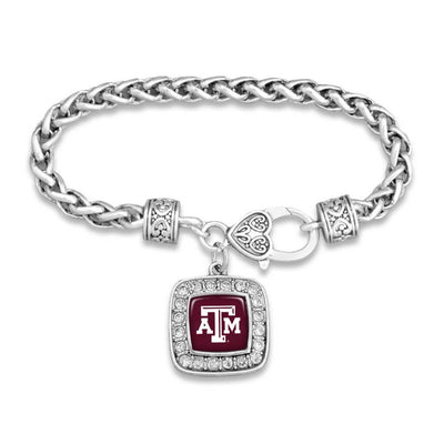 Texas A&M Aggies Official Clasp Bracelet