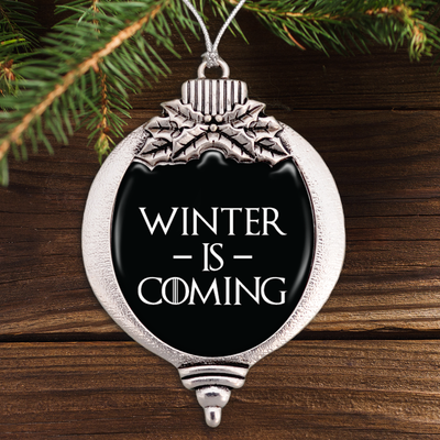Winter Is Coming Bulb Ornament