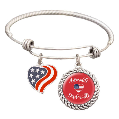 "Trump ""Adorable Deplorable"" Bracelet"