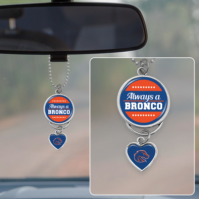 Always A Bronco Rearview Mirror Charm
