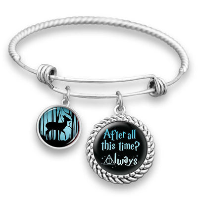"""After All This Time? Always"" Magical Charm Bracelet"