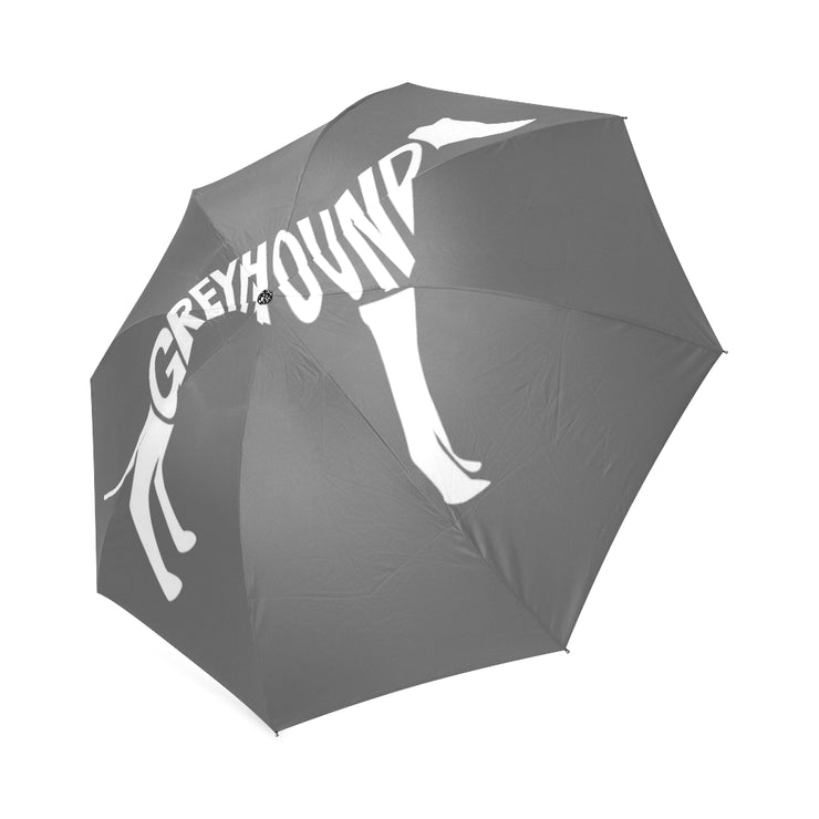 Love is Spelled GREYHOUND Foldable Umbrella