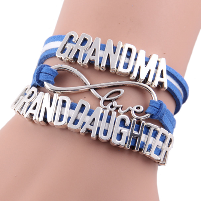 Grandma / Granddaughter Infinity Love Bracelet