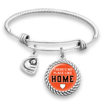 Baltimore There's No Place Like Home Baseball Charm Bracelet