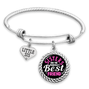 Sisters Are The Perfect Best Friend Charm Bracelet