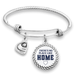 Yankees There's No Place Like Home Baseball Charm Bracelet