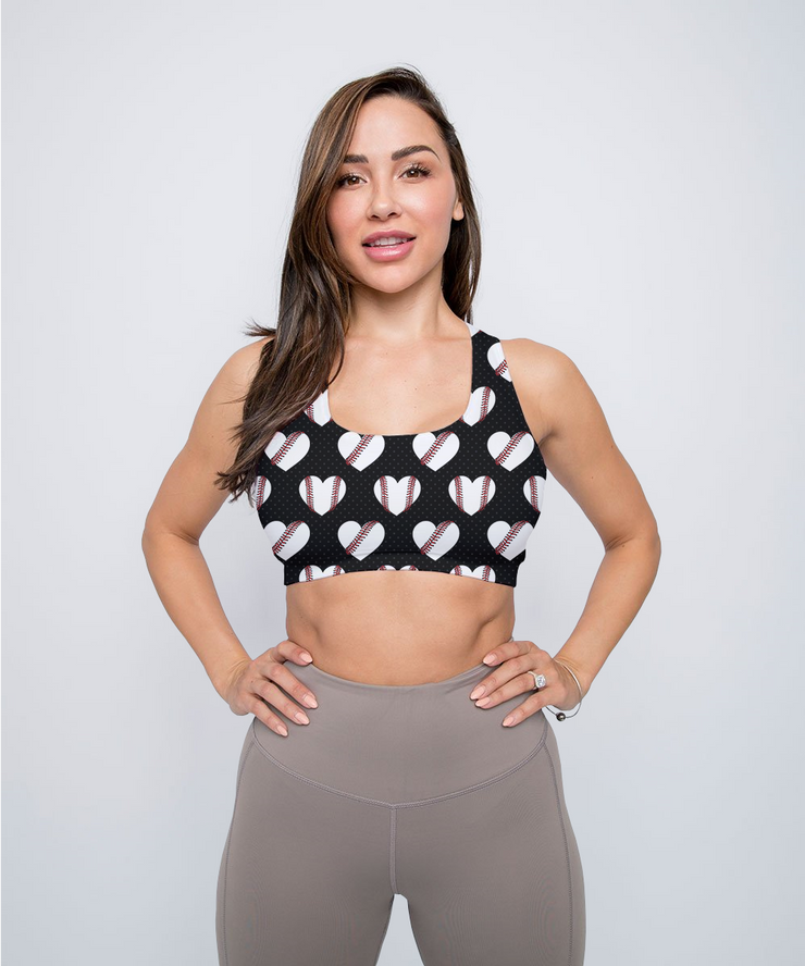 Baseball Lovers Sports Bra