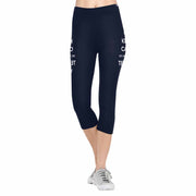 Teacher Voice 3/4 Capri Leggings