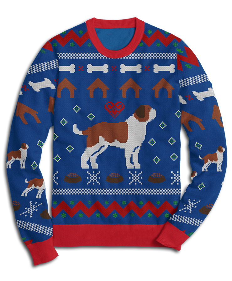 Ugly St. Bernard Fleece Sweatshirt