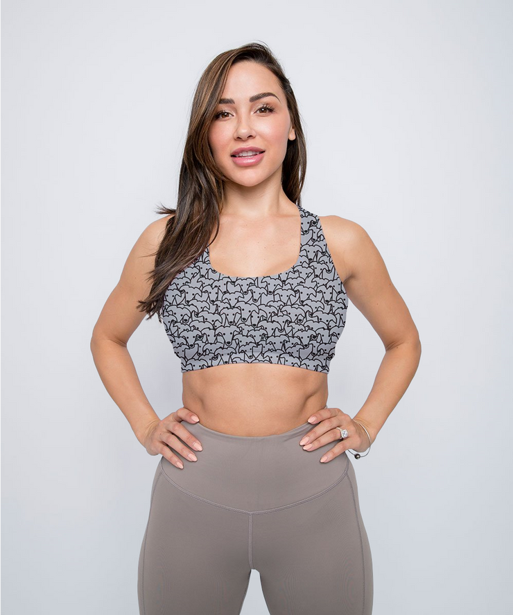Lots of Greyhounds Sports Bra