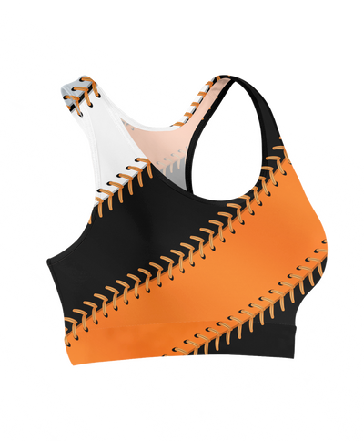 San Francisco Baseball Stitches Sports Bra