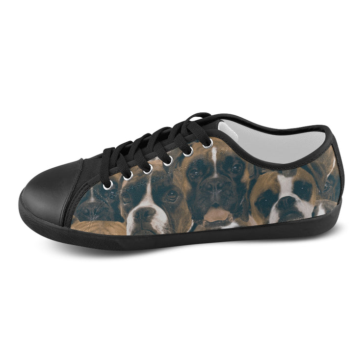 Boxers on Boxers on Boxers Women's Canvas Shoes