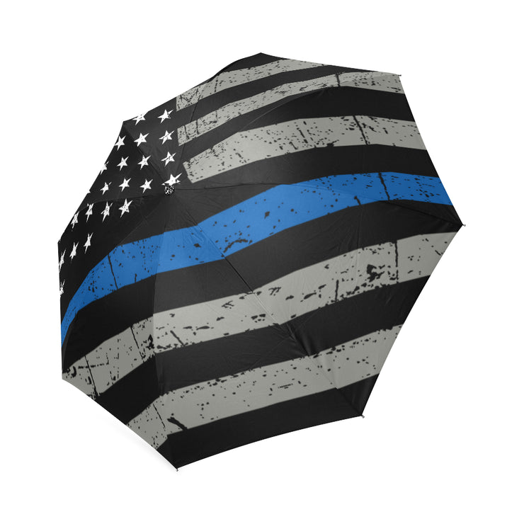 Thin Blue Line Foldable Umbrella