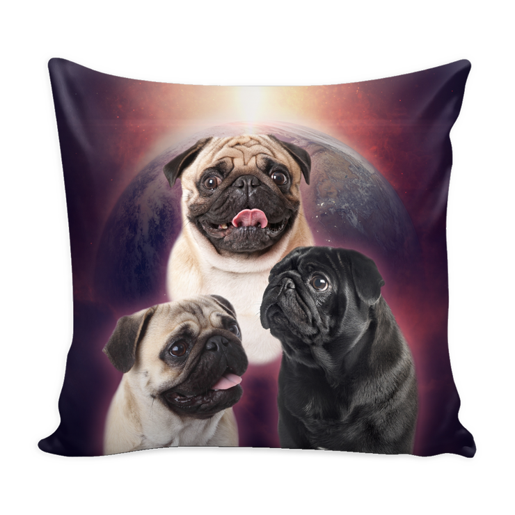 Pug Throw Pillows II