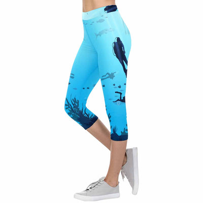 Scuba 3/4 Capri Leggings