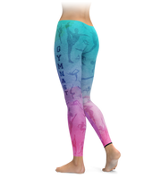 Colorful Gymnast Leggings