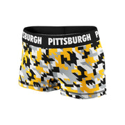 Pittsburgh Houndstooth Camo Fitness Shorts