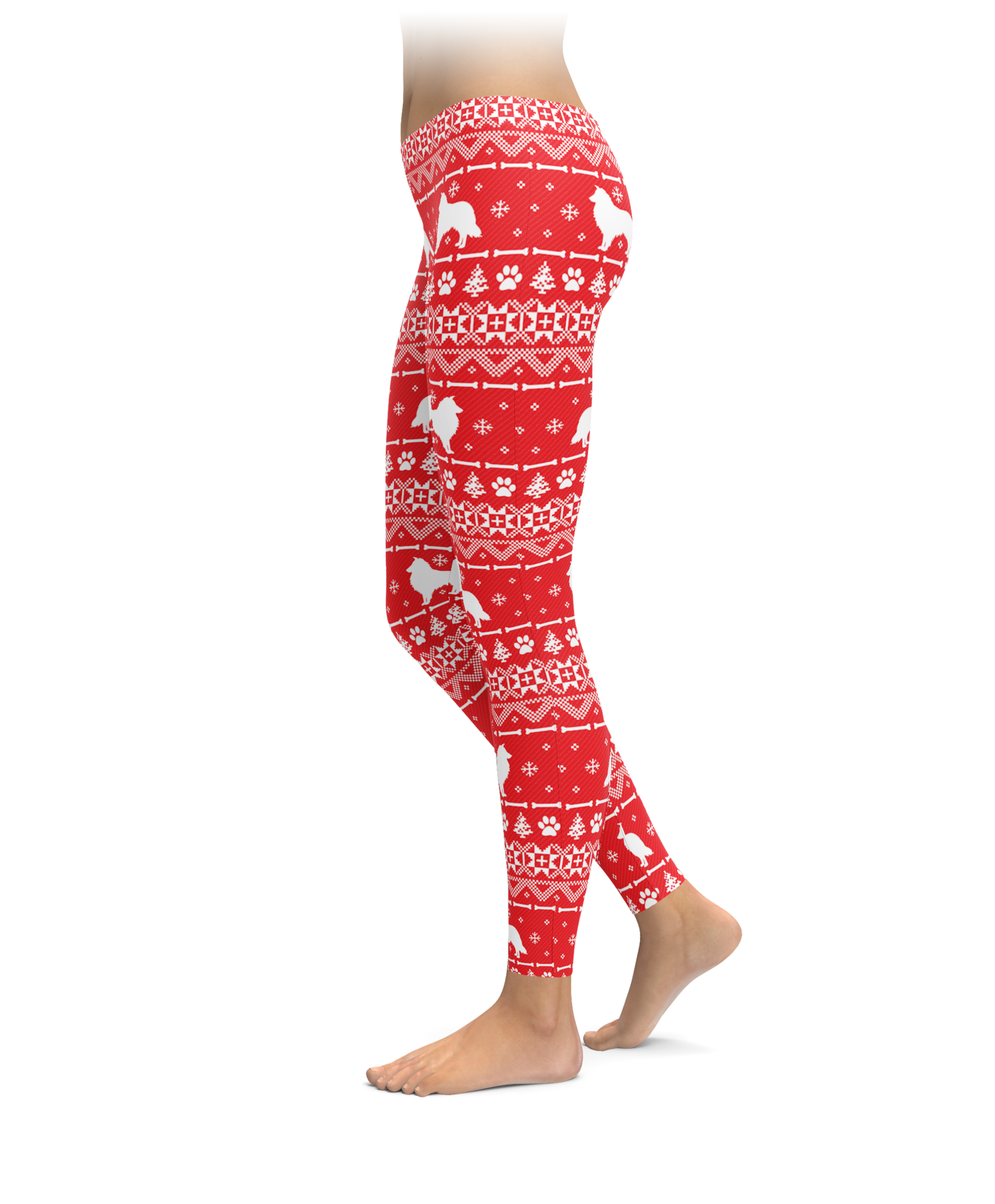Nordic sheltie leggings red nvjuhfo Images