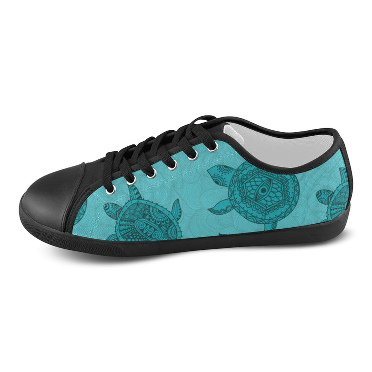 Island Turtles Women's Canvas Shoes