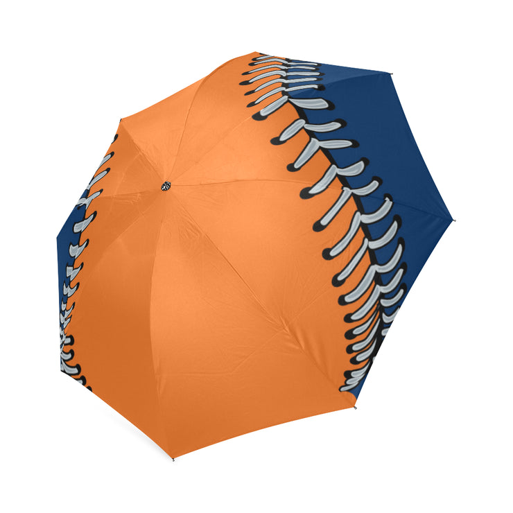 Houston Baseball Foldable Umbrella